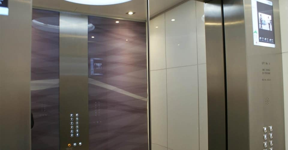 thang máy ở hàn quốc