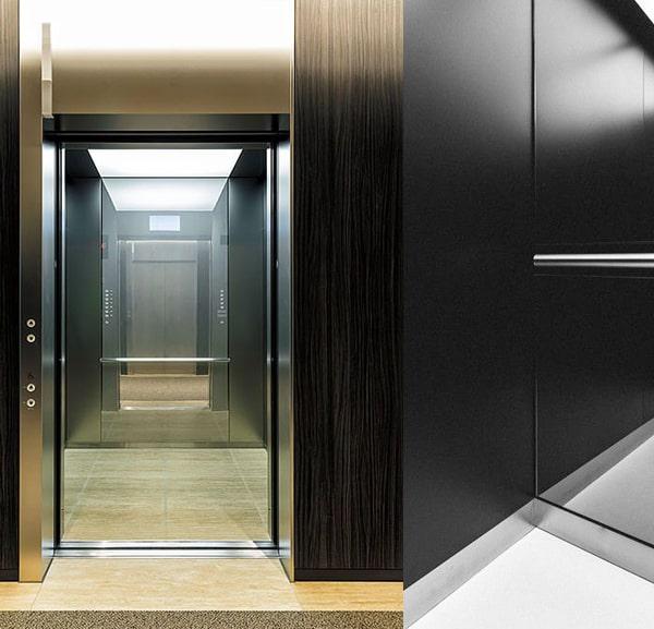 thiết kế cabin thang máy 450kg